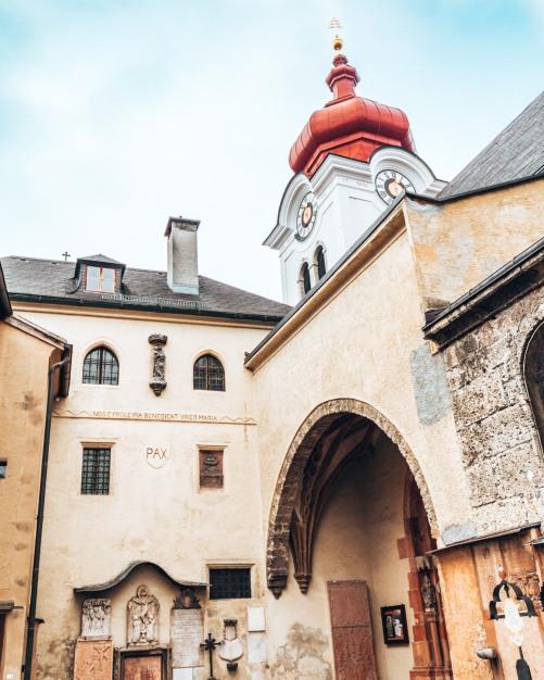 The Nonnberg Convent in Salzburg Austria