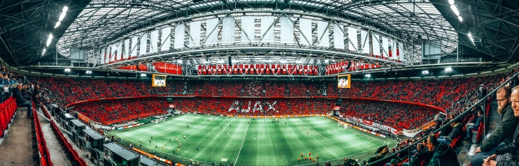 Johan Cruyff Arena home of the Amsterdam Ajax football club