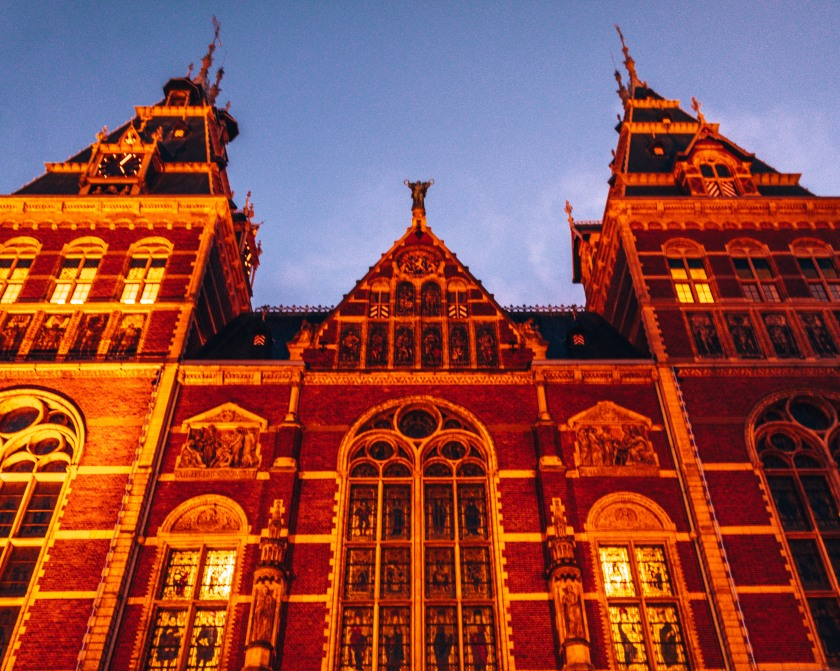 The Rijksmuseum in Amsterdam, Netherlands