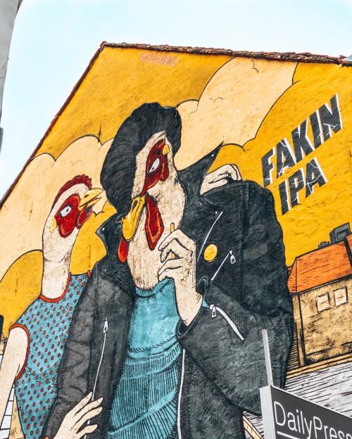 Street art in Zagreb, Croatia
