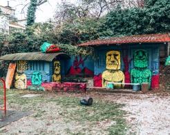 Art Park in Zagreb, Croatia