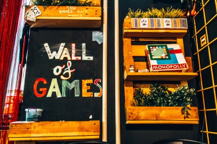 Grab a board game and play with friends at the Chillout Hostel in Zagreb, Croatia
