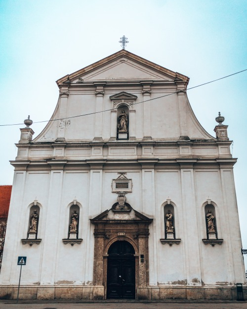 St Catherineès Church in Zagreb, Croatia