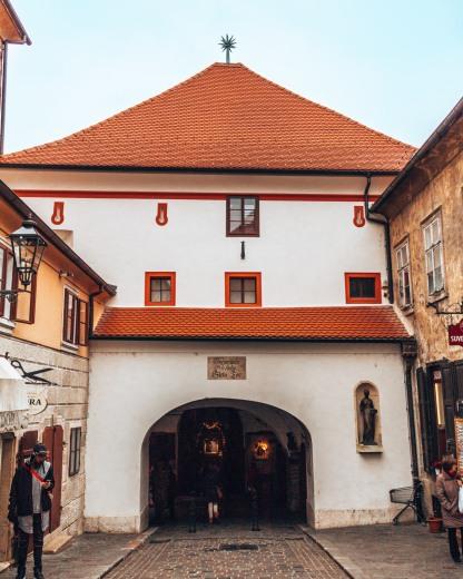 Stone Gate Zagreb Croatia