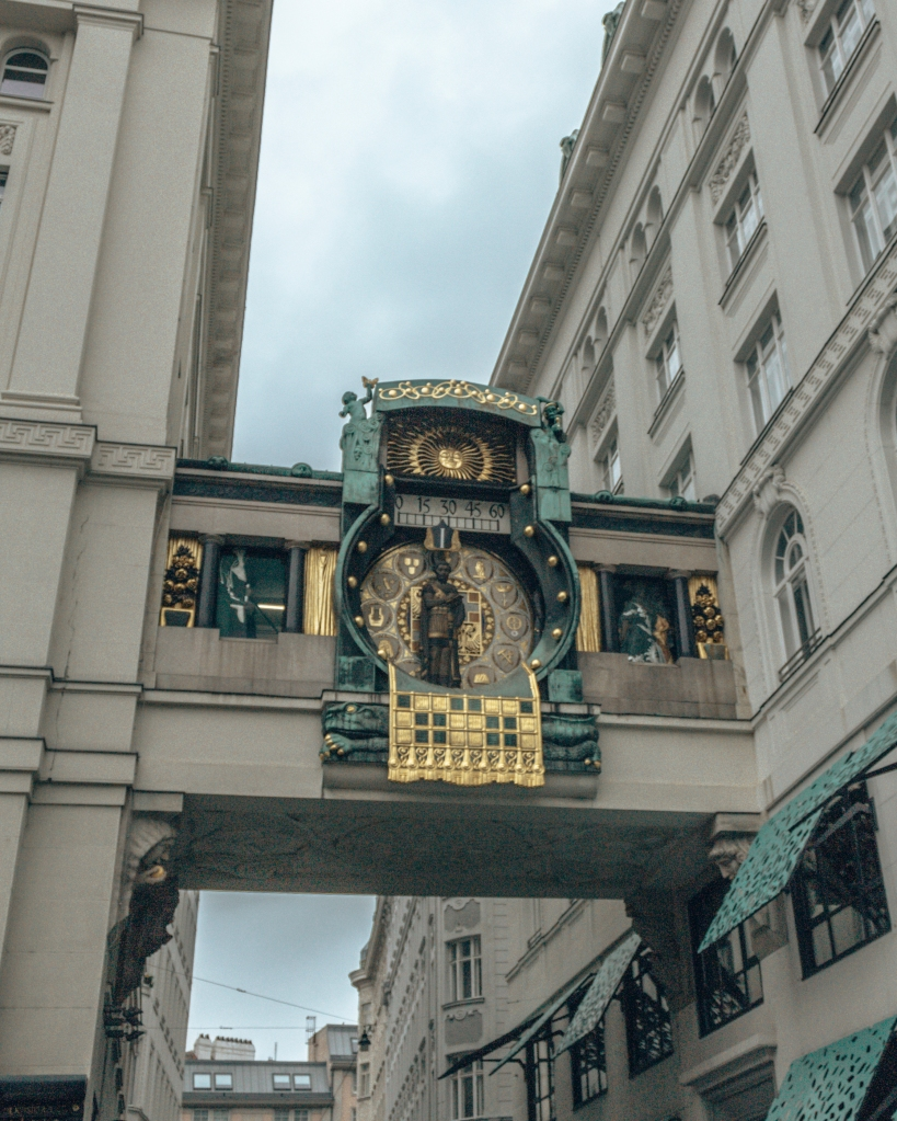 Ornate architecture in Vienna, Austria