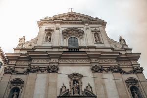 The dominikaner kirche in Vienna, Austria