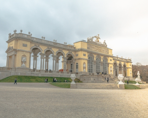 The spectacular Gloriette in Vienna, Austria
