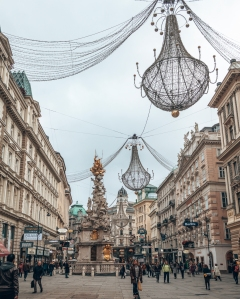 The must see Graben Square in Vienna, Austria