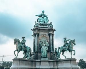 The Maria Theresien Platz in Vienna, Austria