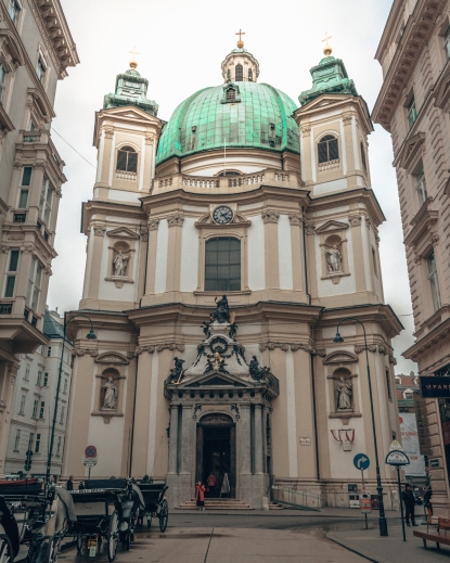 St-Peters church in Vienna, Austria