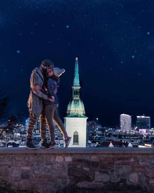 Romance in Bratislava