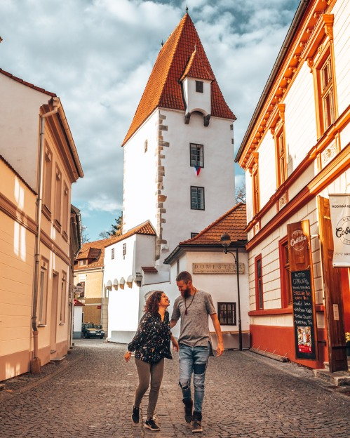 Wandering through Ceske Budejovice