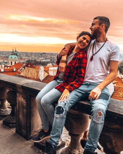 Checking out Prague